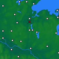 Nearby Forecast Locations - Bay of Lübeck - карта