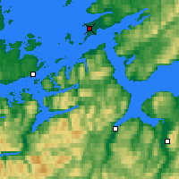 Nearby Forecast Locations - Эрланн - карта