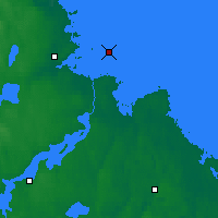 Nearby Forecast Locations - Eggegrund - карта
