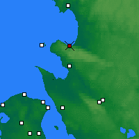 Nearby Forecast Locations - Бостад - карта