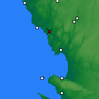 Nearby Forecast Locations - Broen - карта