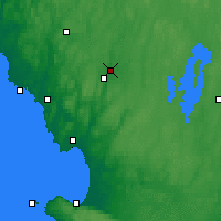 Nearby Forecast Locations - Torup - карта