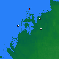 Nearby Forecast Locations - Kokkola Tankar - карта