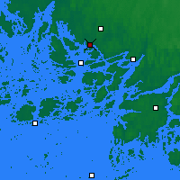Nearby Forecast Locations - Turku Artukainen - карта