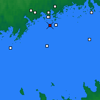 Nearby Forecast Locations - Töölö - карта