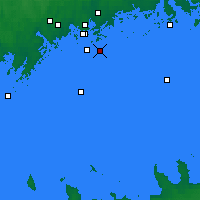 Nearby Forecast Locations - Isosaari - карта