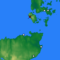 Nearby Forecast Locations - Orkney / Hoy - карта