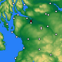 Nearby Forecast Locations - Глазго - карта