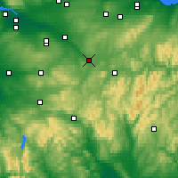 Nearby Forecast Locations - Lanark - карта
