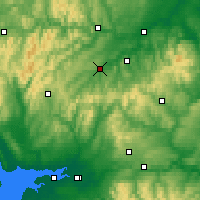 Nearby Forecast Locations - Хоик - карта