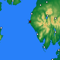 Nearby Forecast Locations - Whitehaven - карта