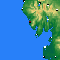 Nearby Forecast Locations - Lake Dist - карта