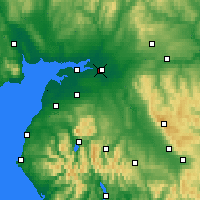 Nearby Forecast Locations - Карлайл - карта