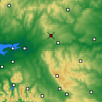 Nearby Forecast Locations - Spadeadam - карта