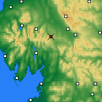 Nearby Forecast Locations - Penrith - карта