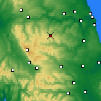 Nearby Forecast Locations - Stanhope - карта