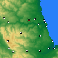 Nearby Forecast Locations - Albemarle - карта