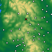 Nearby Forecast Locations - Skipton - карта