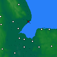 Nearby Forecast Locations - Skegness - карта