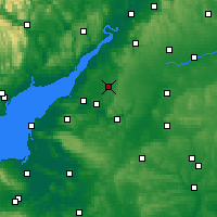 Nearby Forecast Locations - Yate - карта