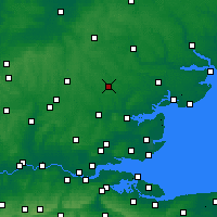 Nearby Forecast Locations - Braintree - карта