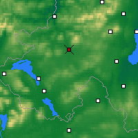 Nearby Forecast Locations - Ома - карта
