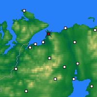 Nearby Forecast Locations - Magilligan - карта