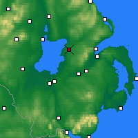 Nearby Forecast Locations - Ольдергров - карта