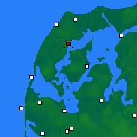 Nearby Forecast Locations - Silstrup - карта
