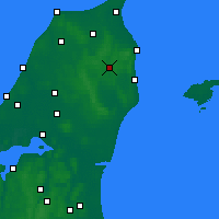 Nearby Forecast Locations - Stenhoj - карта