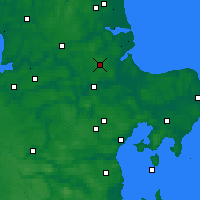 Nearby Forecast Locations - Hald - карта