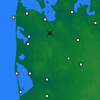 Nearby Forecast Locations - Mejrup - карта