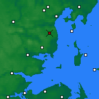 Nearby Forecast Locations - Aarhus Syd - карта