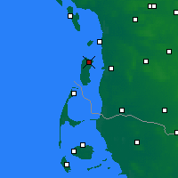 Nearby Forecast Locations - Romo Island - карта