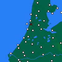 Nearby Forecast Locations - IJmuiden - карта