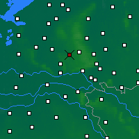 Nearby Forecast Locations - Otterlo - карта