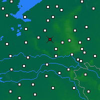 Nearby Forecast Locations - Барневелд - карта