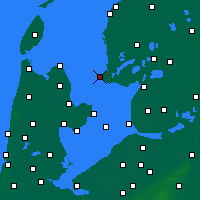 Nearby Forecast Locations - Stavoren - карта