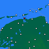 Nearby Forecast Locations - Lauwersoog - карта