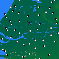 Nearby Forecast Locations - Cabauw - карта