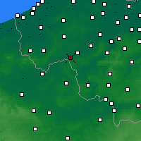 Nearby Forecast Locations - Wevelgem - карта