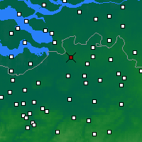 Nearby Forecast Locations - Brasschaat - карта