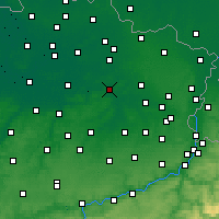 Nearby Forecast Locations - Schaffen - карта