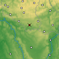 Nearby Forecast Locations - Buzenol - карта
