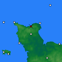 Nearby Forecast Locations - Vigite du Haumet - карта