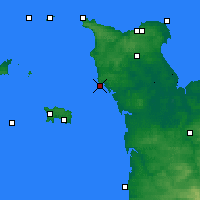 Nearby Forecast Locations - Carteret - карта