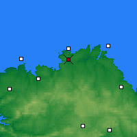 Nearby Forecast Locations - Ланьон - карта