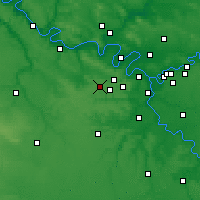 Nearby Forecast Locations - Trappes - карта