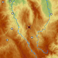 Nearby Forecast Locations - Sembadel - карта