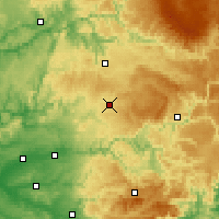 Nearby Forecast Locations - Cassagnes - карта